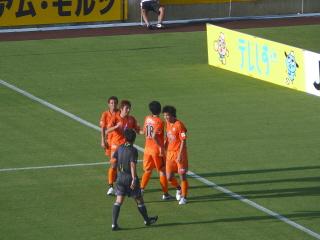 63分、矢島ゴール!