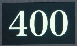 テル、400試合