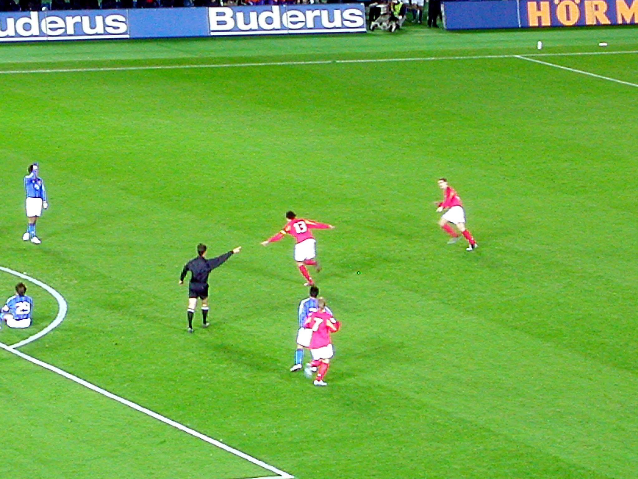 日本0-2ドイツ