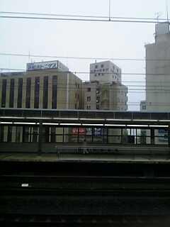 浜松は、雨