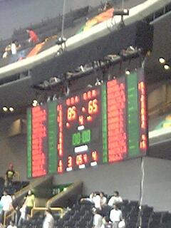 世界バスケ準々決勝米対独