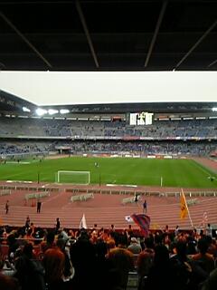 横浜Fマリノス戦@日産ス終了
