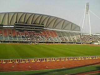 《S-PULSE》 天皇杯鹿島戦@熊本 まもなくキックオフ!