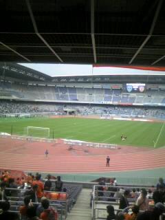 《S-PULSE 2007》 J1-08 横浜FC戦 終了