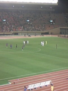 FC東京対横浜FC @国立 終了