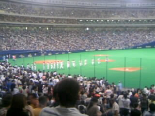《DRAGONS 2007》 対阪神8回戦 終了