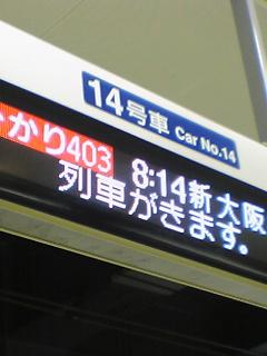 《ひとりごと》 今日は、広島戦