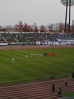 《S-PULSE 2007》 天皇杯5回戦 横浜Fマ戦 終了