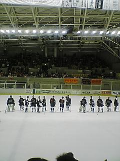 《IceBucks 07-08》 レギュラーシーズン ホーム最終戦 終了