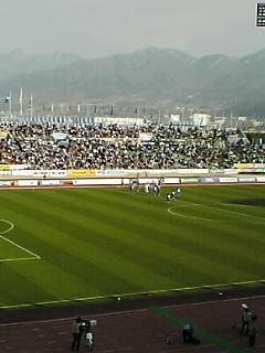 《vfk 2008》 J2第1節 岐阜戦終了
