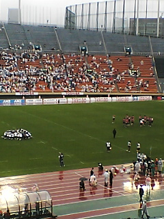 《JAPAN RUGBY 2008》 Pacific nations v. FIJI