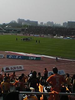 《S-PULSE 2008》 J1第15節 札幌戦 終了