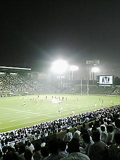《JAPAN RUGBY 08-09》  トップリーグ開幕