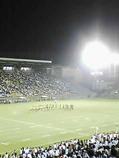 《JAPAN RUGBY 08-09》  トップリーグ開幕戦 終了