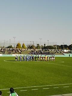 《WMW 2008》 関東大学サッカー後期 最終節 筑波戦 終了