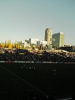 《WASEDA RUGBY 2008》 関東大学ラグビー対抗戦 慶應戦 終了