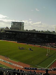《WASEDA RUGBY 2009》 全国大学ラグビー準決勝 東海大戦 終了