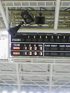《IceBucks 08-09》 High1 6回戦 終了