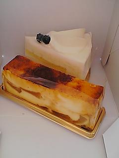 東京・銀座 ブールミッシュのケーキ