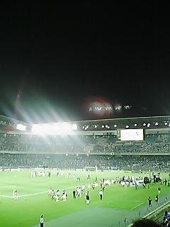 《All for 2010 - 2009》 2010W杯最終予選カタール戦(HOME) 終了