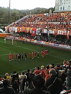 《S-PULSE 2009》 天皇杯準々決勝 新潟戦 終了
