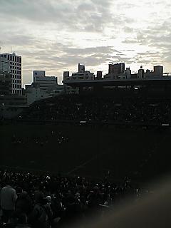 《WASEDA RUGBY 09-10》 大学選手権2回戦 帝京戦 終了
