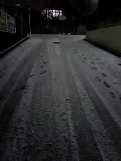 《ひとりごと》 雪