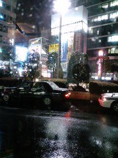 またも、2010年2月、東京、雪
